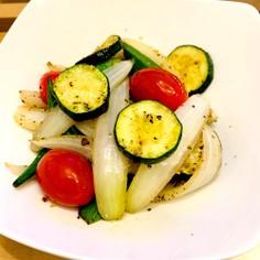 オクラと夏野菜の炒め物