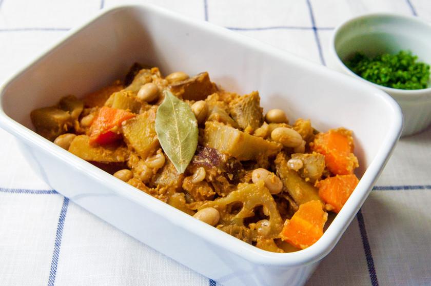 根菜の和風ラタトゥイユ