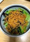 レタスと韓国海苔のサラダ