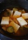夏のビンボー飯 キムチ冷汁