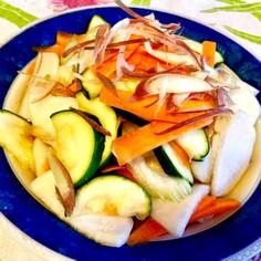 白だしだけ 彩り野菜の簡単浅漬