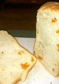 干しあんずと酒かすの食パン