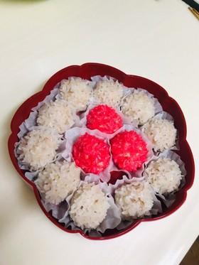 もち米ツヤツヤ☆肉団子の真珠蒸し