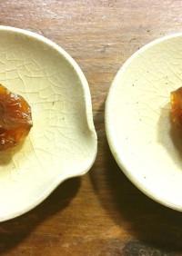 干し梅 小梅のシロップ漬け使用