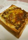 厚切り食パン・生食パンdeカレートースト
