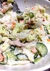 ゆで野菜とツナのサラダ♪