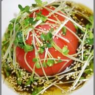 ダイエットに!簡単もずく酢冷やしトマト