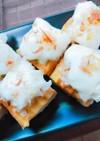 厚揚げの玉葱とマスカルポーネチーズ焼き