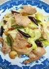 キャベツと豚バラの四川風炒め(干鍋包菜)