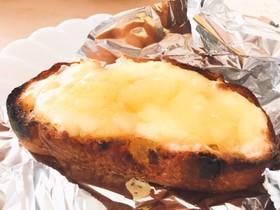 レーズンハニーチーズトースト♪