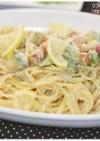 レモンクリームスパゲティ