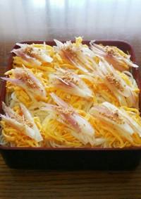 茗荷と卵☆クルンと素麺