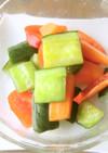 味噌と寿司酢のダブル発酵で胡瓜のお漬物