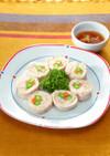 鶏ハムの野菜ロール