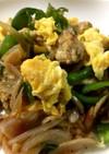 卵入り豚の生姜焼き