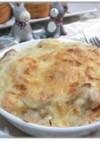 海老とツナのスパゲティグラタン