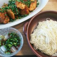 お昼ごはん 素麺