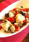 水餃子と鯖の味噌煮缶で簡単☆麻婆茄子
