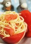 トマトカップのペペロンサラダ