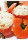 トマトカップのツナサラダ