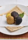 【きのこ】乾椎茸と薩摩芋のそうめん衣揚げ