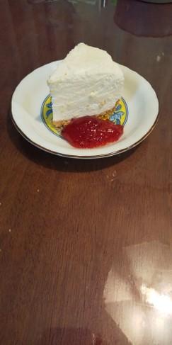 【あっさり】レアチーズケーキ