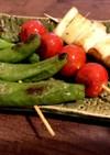 5分で栄養満点!夏野菜焼き串★