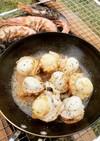 キャンプで楽チン*焚火で海鮮バーベキュー