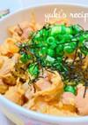 楽チン♬麺つゆの親子丼