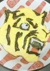 阪神タイガースの球団エンブレムオムライス