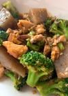 ブロッコリー蒟蒻鯖味噌煮ワンダーランド