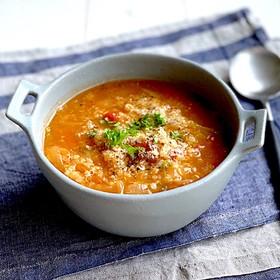 脂肪燃焼スープ活用キヌアのトマトリゾット