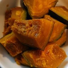 完熟カボチャの煮物