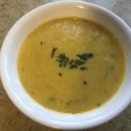 即席、簡単冷製かぼちゃスープ