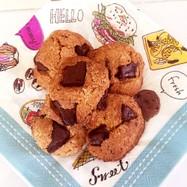 チョコチップおからパウダーのクッキー