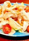 鶏むね肉と玉ねぎのタイ風サラダ