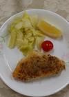 カレイのパン粉焼き(透析食)