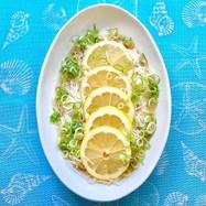 レモンそうめん*市販の麺つゆで簡単!