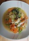 ツナと白菜の卵とじ