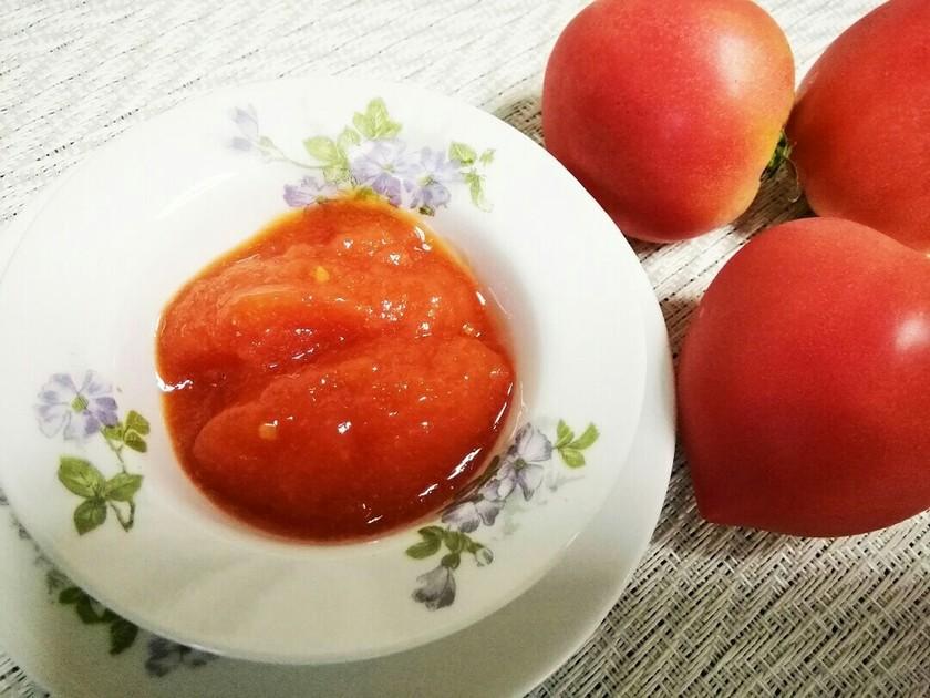 爽やか!トマトとレモンのシャーベット♪