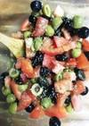 やみつき!オリーブとトマトのマリネ