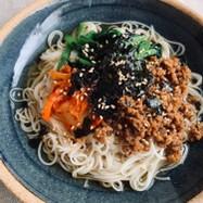簡単レシピ 「XO醬そぼろ素麺」