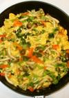 野菜入り炒り卵♪簡単