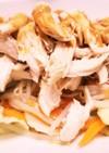 蒸し鶏のタレ