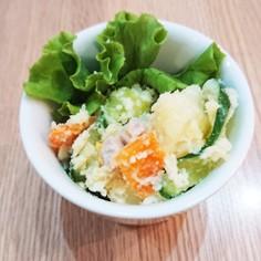 魚肉ソーセージのポテトサラダ