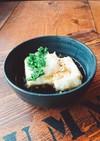 麺つゆでめーっちゃ簡単!揚げ出し豆腐❤️