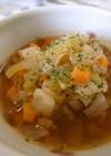 ケチャップで簡単!ミネストローネ風スープ