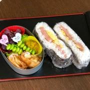 毎日お弁当♪酢飯でおにぎらずの写真