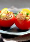 すし酢で簡単*キヌアのライスサラダ