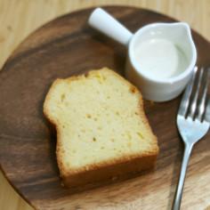 パウンドケーキ(別立て生地)